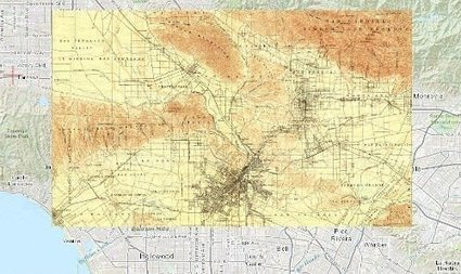 Before and After: Mapping LA 100 Years Ago and Today | visual data | Scoop.it