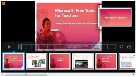 Microsoft Free Tools for Teachers by 9SLIDES | Digital Presentations in Education | Scoop.it