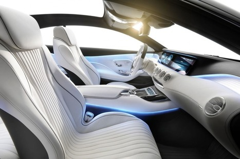 The New Mercedes S-Class Could Well Have 3D Printed Interior Parts | Desktop 3D Print | Scoop.it