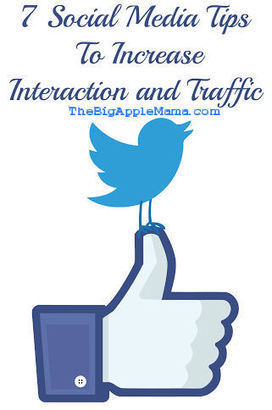 7 Social Media Tips To Increase Interaction and Traffic | Digital News & best practices | Scoop.it