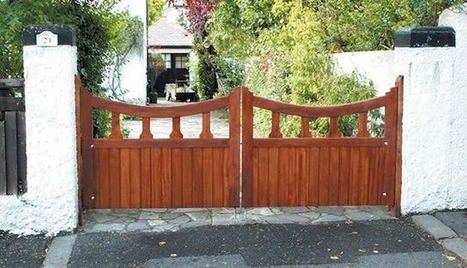 Add Longevity to the Wooden Gates   Facebook   Electric gates   Scoop.it