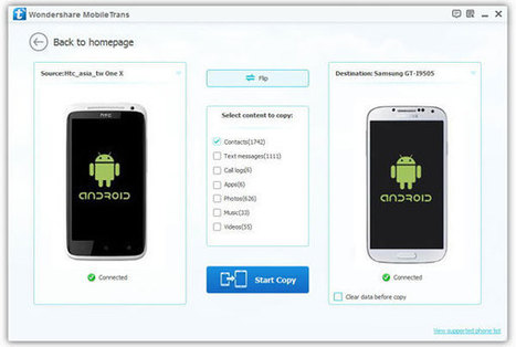 How to transfer contacts from Samsung Galaxy S4 to Samsung Galaxy S5   Best and fast convert and edit videos on Windows and Mac   Tech News   Scoop.it