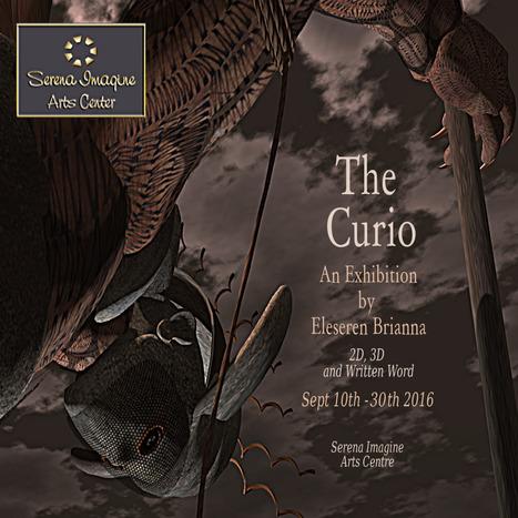 """The Curio"" by Eleseren Brianna at Serena Imagine Arts CTR | Durff | Scoop.it"