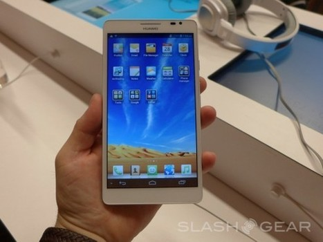 Huawei Ascend Mate 6.1-inch smartphone arrives to rival Note II [Hands-on] | Mobile IT | Scoop.it