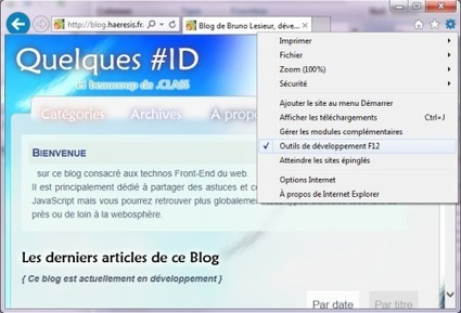Tester la compatibilité IE7, IE8 et IE9 avec IE10 | Lectures web | Scoop.it