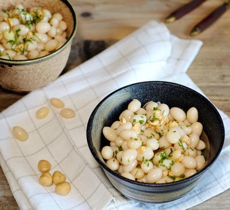 Salade de cocos de Paimpol à la vinaigrette siphonnée au curcuma - Et si c'était bon...   Chef, à table !   Scoop.it