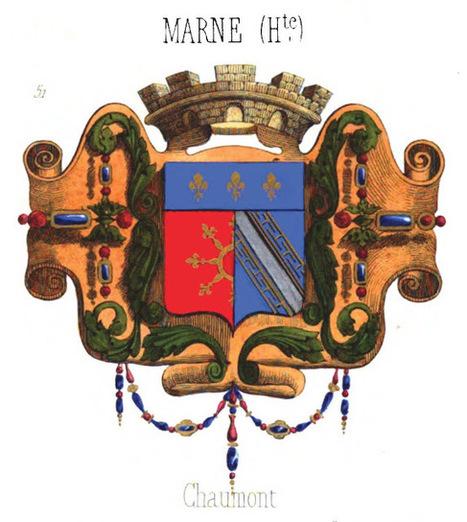 Les départements français et les blasons des préfectures à la fin du XIXe siècle avec le Fil Géographique #03 | Rhit Genealogie | Scoop.it