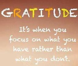 Appreciate Gratitude on Twitter | ♨ Family & Food ♨ | Scoop.it