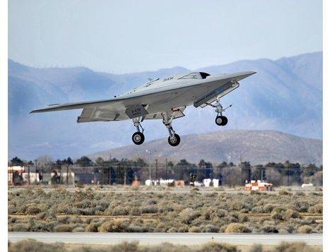 Northrop Grumman X-47 | Popular Science | FutureChronicles | Scoop.it
