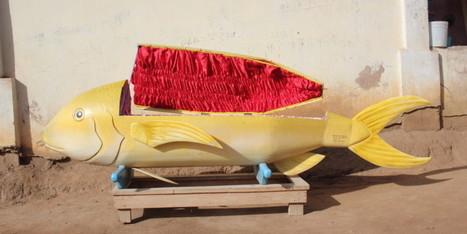 Une série de cercueils originaux, en forme de lion ou de poisson   The Huffington Post   Kiosque du monde : Afrique   Scoop.it