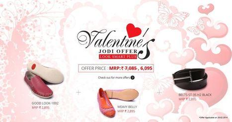 Valentine's Jodi Offer on Select Footwear from Hitz | PRLog | Hitz | Scoop.it