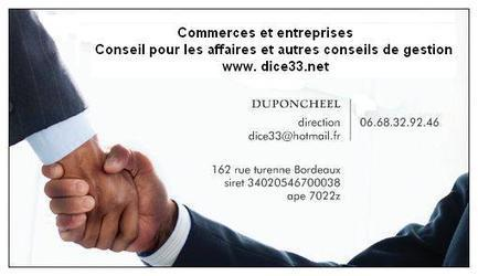 Dice marketing management bordeaux gironde 33 conseil commerce entreprise vente achat cession | MODE ET TOTAL LOOK | Scoop.it