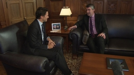 What did Stephen McNeil and Justin Trudeau talk about in their first meeting? | Nova Scotia Construction News | Scoop.it