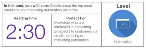 12 Essential Email & Marketing Automation Tools for Marketers | SM | Scoop.it