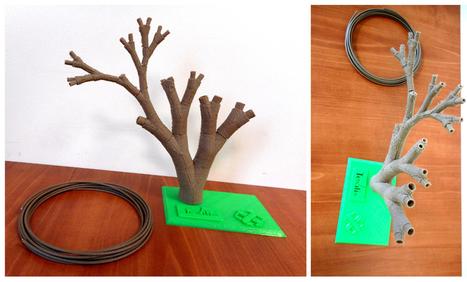 Un nouveau filament à base de lin pour nos imprimantes 3D | 3DPrinting & Design - Impression 3D & Design | Scoop.it