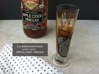 Avoid These 6 Mistakes When Using Apple Cider Vinegar | Holistic Nutrition Health and Wellness | Scoop.it