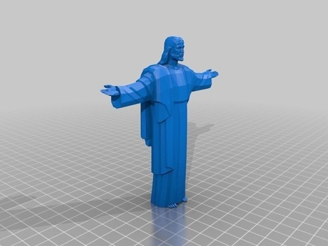 Christ the Redeemer (Portuguese: Cristo Redentor) by evandronet - Thingiverse | design ideas | Scoop.it