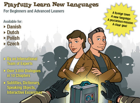 Lost in - An Interactive Language Learning Adventure on DVD | Learning languages | Scoop.it