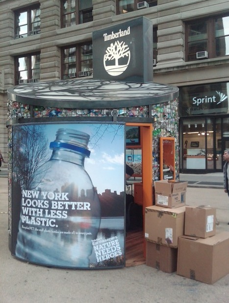 EXPERIENTIAL | Timberland Sets up Recycling Story in Flatiron | Future Of Advertising | Scoop.it