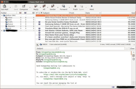 The Best Lightweight Graphical Email Clients - Linux Links - The Linux Portal Site | Linux and Open Source | Scoop.it