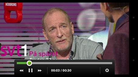 SVT Player (Swedish TV) – HTML / AIR Video Playback | Everything about Flash | Scoop.it