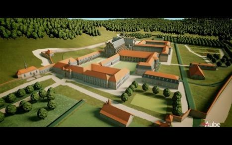 A Abadia de Claraval, recriada em 3D   History 2[+or less 3].0   Scoop.it