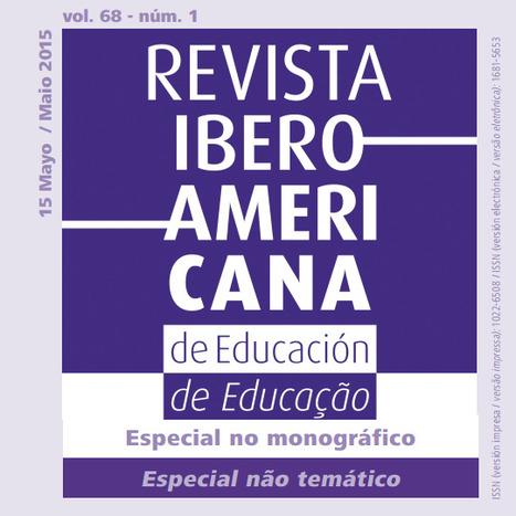 e-learning, conocimiento en red: Número especial 68/1 RIE Revista Ibero Americana de Educación. | Pedalogica: educación y TIC | Scoop.it