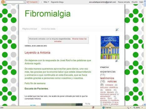 Blog de Fibromialgia | Blogs Escuela de Pacientes | Scoop.it