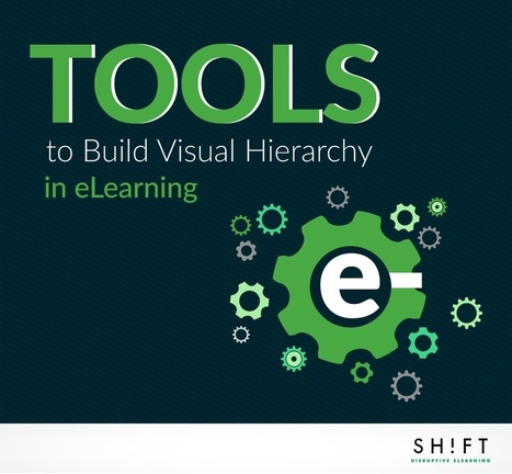 Design Tools to Build Visual Hierarchy in eLearning | SHIFT elearning | Scoop.it