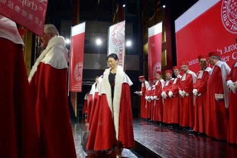 Des Saint-Emilion en robe rouge pour séduire la Chine - LaPresse.ca | dordogne - perigord | Scoop.it