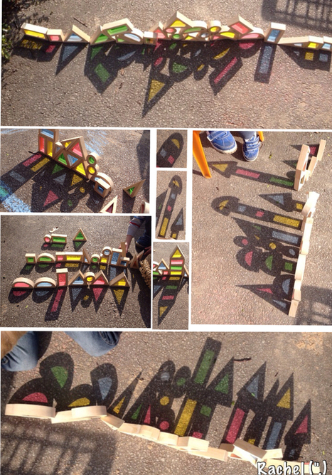 Using colour blocks to explore shadow in the Early Years   Reggio Inspired Learning   Scoop.it