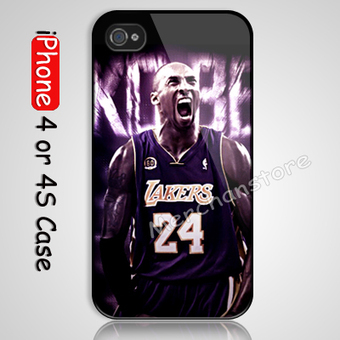 Kobe iPhone 4 or 4S Case Cover | Merchanstore - Accessories on ArtFire | Samsung Galaxy S3 Case | Scoop.it