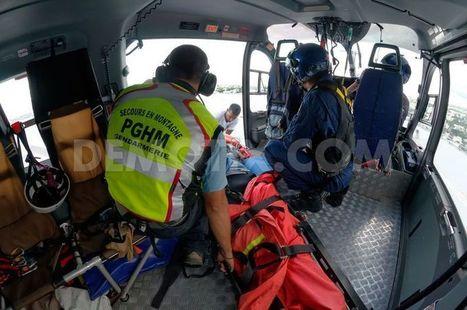 Rescue in the mountains of Reunion Island | Coup d'œil sur La Réunion | Scoop.it