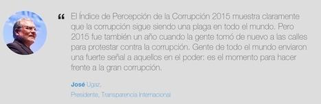 Crea y aprende con Laura: #Mapa Mundial de la #Corrupción | Activismo en la RED | Scoop.it