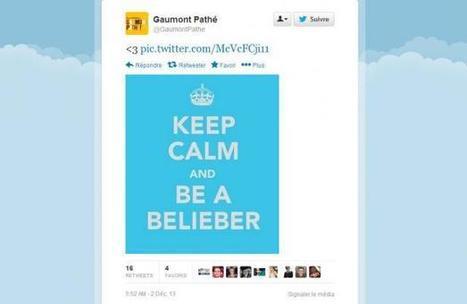 Gaumont résiste sur Twitter aux fans en colère de Justin Bieber | Justin Bieber | Scoop.it