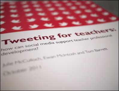 Pearson & NoTosh Report: Supporting Teacher CPD with Social Media | NoTosh | Into the Driver's Seat | Scoop.it