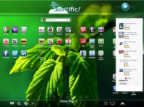 Startific, une magnifique page d'accueil personnalisée | appleworld | Scoop.it