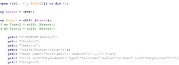 Outil de Génération automatique de pages HTML #Perl #TALN #SEO | Search engine optimization : SEO | Scoop.it