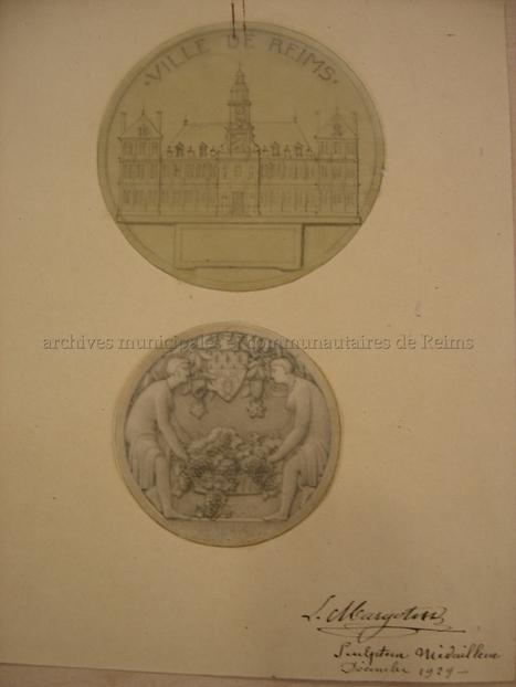 Médaille de la Ville de Reims - L' univers de Céline | Auprès de nos Racines - Généalogie | Scoop.it