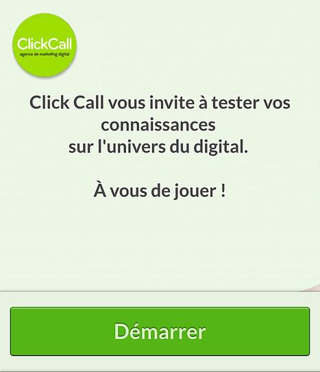 Click Call Quizz #2 - Marketing Mobile | Découvrir Click Call | Scoop.it