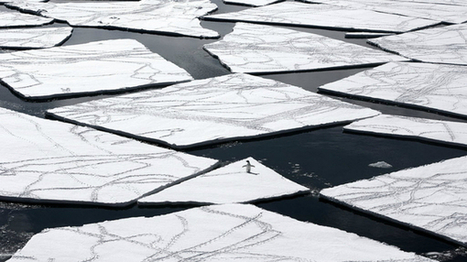 Supercomputer spots Antarctic waters taking a mile-deep plunge   HPC   Scoop.it