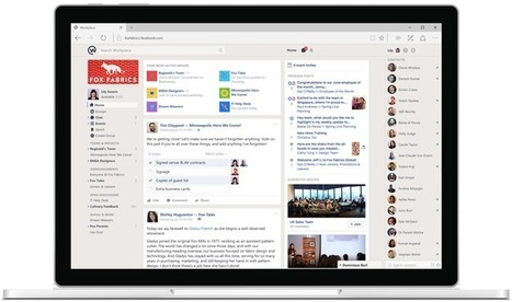 Workplace by Facebook opens to sell enterprise social networking to themasses | e-commerce & social media | Scoop.it