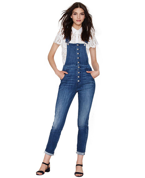 Distressed Denim Overall | Jeans Fashion | Scoop.it