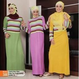 Baju Gamis Kembang untuk para Hijaber   Baju Korea   Scoop.it