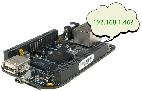 Quickly find your Beaglebone Black's IP address | Raspberry Pi | Scoop.it