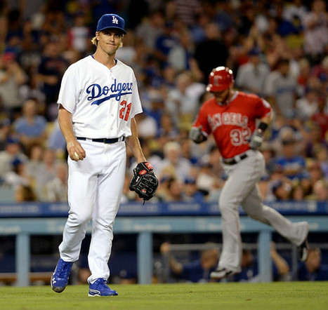 Tonight's game story, on Garrett Richards taking the torch from Zack Greinke. | Dodger Social News Roundup | Scoop.it