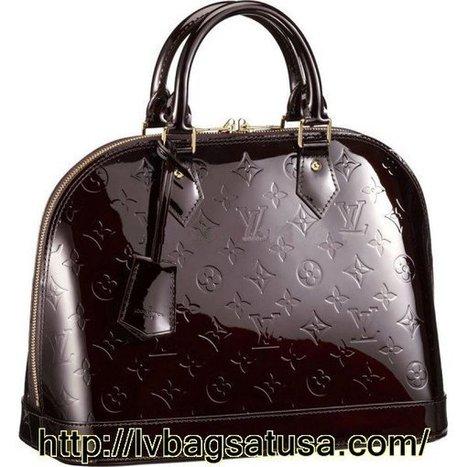 Louis Vuitton Alma Monogram Vernis M91611   Loui Vuitton Outlet Online 70% Off,Free Shipping   Scoop.it