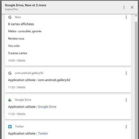 Avec Mon Activité, Google montre l'étendue de sa surveillance des internautes | info | Scoop.it