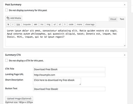 How to Add Better Summary in WordPress Posts with TLDR CTA   Trailing WordPress   Scoop.it