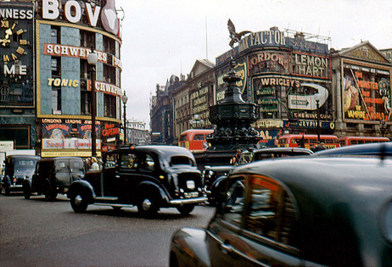 Retronaut - 1950s: Colour photographs of Piccadilly Circus | 1950's | Scoop.it